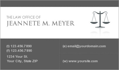 Lawyer business cards business cards for attorneys lawyer business card colourmoves